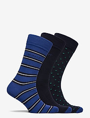 GANT - D2. 3-PACK MIX SOCKS GIFT BOX - regular socks - crisp blue - 2