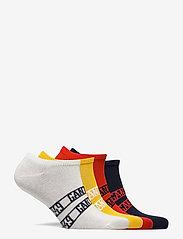 GANT - D1. 5-PACK GANT SNEAKER SOCKS - socks - atomic orange - 1