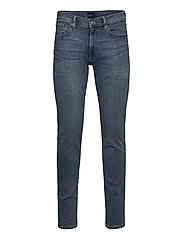 D1. SLIM ACTIVE-RECOVER JEANS - LIGHT BLUE WORN IN
