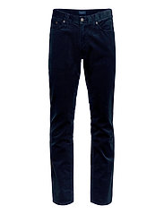 D1. SLIM CORD JEANS - NAVY
