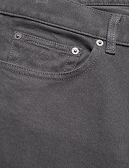 GANT - D2. REGULAR SOFT TWILL JEANS - regular jeans - antracite - 2