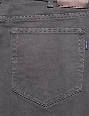 GANT - D2. REGULAR SOFT TWILL JEANS - regular jeans - antracite - 4
