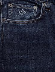 GANT - D1. TAPERED GANT JEANS - slim jeans - dark blue worn in - 2