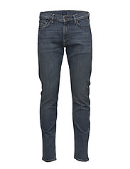 D1. TAPERED GANT JEANS - MID BLUE WORN IN