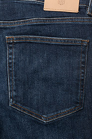 GANT - SLIM GANT JEANS - slim jeans - dark blue worn in - 4