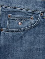 GANT - SLIM GANT JEANS - slim jeans - semi light indigo worn in - 2