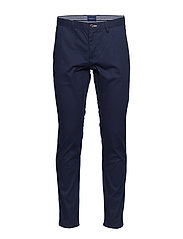 SLIM TECH PREP CHINO - MARINE