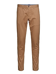 SLIM TECH PREP CHINO - WARM KHAKI