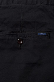 Gant - D1. RELAXED TWILL SHORTS - chinot - black - 4