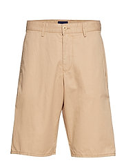 MD. RELAXED SUMMER SHORTS - DARK KHAKI
