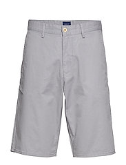 MD. RELAXED SUMMER SHORTS - WINDY GRAY