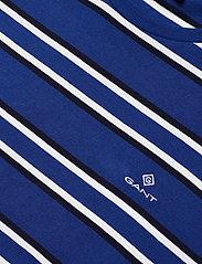 GANT - D1. MULTI STRIPE SS T-SHIRT - short-sleeved t-shirts - crisp blue - 2