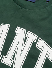 GANT - MD. FALL SS T-SHIRT - short-sleeved t-shirts - tartan green - 2
