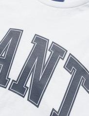 GANT - MD. FALL SS T-SHIRT - short-sleeved t-shirts - white - 2
