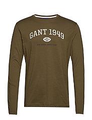 D1. GANT 1949 LS - DARK CACTUS