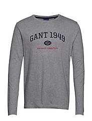 D1. GANT 1949 LS - GREY MELANGE