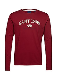 D1. GANT 1949 LS - MAHOGNY RED