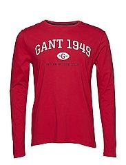 D1. GANT 1949 LS - RED