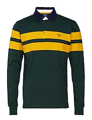 O2. CHEST STRIPE HEAVY RUGGER - TARTAN GREEN