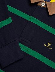 GANT - D1. BRETON STRIPE CONTRAST HR - long-sleeved polos - kelly green - 2