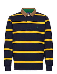 D1. BRETON STRIPE CONTRAST HR - SOLAR POWER YELLOW