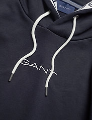 GANT - D1. 13 STRIPES SWEAT HOODIE - basic sweatshirts - evening blue - 2