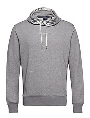 D1. 13 STRIPES SWEAT HOODIE - GREY MELANGE