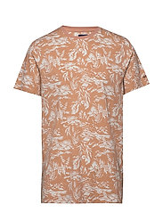 D2. RIVIERA VIEW SS T-SHIRT - PALE CORAL