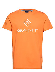 GANT LOCK UP SS T - SHIRT - AMBERGLOW
