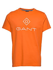 GANT LOCK UP SS T - SHIRT - ARANCIA