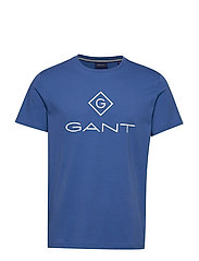 GANT LOCK UP SS T - SHIRT - BRIGHT COBALT