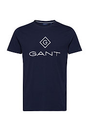 GANT LOCK UP SS T - SHIRT - EVENING BLUE