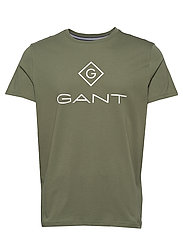 GANT LOCK UP SS T - SHIRT - FOUR LEAF CLOVER