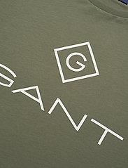 GANT - LOCK UP SS T-SHIRT - short-sleeved t-shirts - four leaf clover - 2