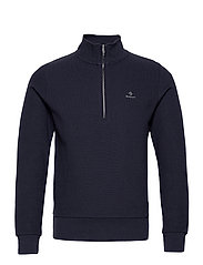 D2. STRUCTURE HALF ZIP - EVENING BLUE