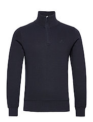 D2. SACKER RIB HALF ZIP - NAVY