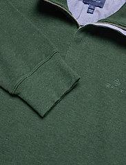 GANT - D2. SACKER RIB HALF ZIP - half zip jumpers - tartan green mel - 2