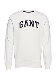 O1. GANT C-NECK SWEAT - EGGSHELL