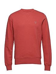 THE ORIGINAL C-NECK SWEAT - CARDINAL RED
