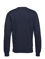 GANT - THE ORIGINAL C-NECK SWEAT - basic-sweatshirts - evening blue - 1