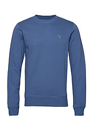 THE ORIGINAL C-NECK SWEAT - HURRICANE BLUE