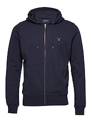 THE ORIGINAL FULL ZIP HOODIE - EVENING BLUE