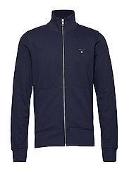 THE ORIGINAL FULL ZIP CARDIGAN - EVENING BLUE