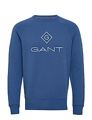 LOCK UP C - NECK SWEAT - BRIGHT COBALT