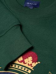 GANT - D1. GANT ROYAL CREST C-NECK - tops - tartan green - 2