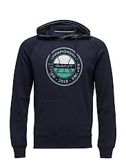 OP1. BÅSTAD SWEAT HOODIE - EVENING BLUE