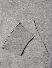 GANT - LOCK UP HOODIE - hoodies - grey melange - 3