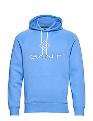 GANT LOCK UP HOODIE - PACIFIC BLUE
