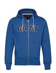 D1. GANT SWEAT ZIP HOODIE