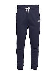 D1. GRAPHIC SWEAT PANTS - EVENING BLUE